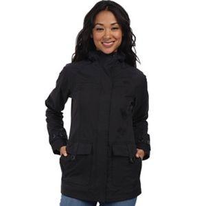 North Face | Black Carli Rain Jacket | Size M
